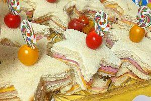 Stelle di tramezzini – ricetta di Natale