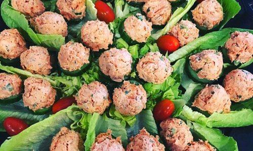 Palline di salmone e ricotta – ricetta antipasto