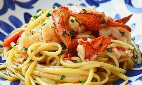 Spaghetti con aragosta – ricette primi delle feste