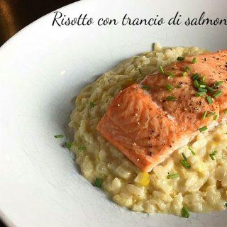 Risotto al salmone - ricetta delle feste