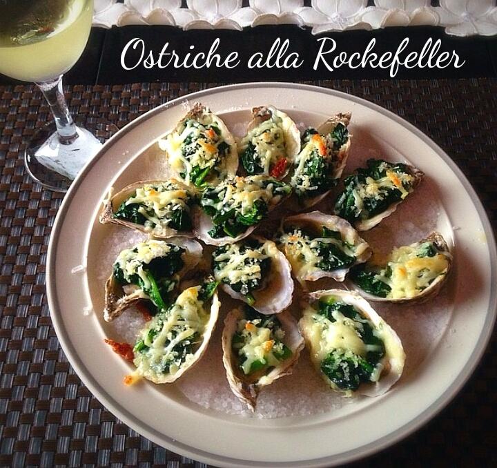 Ostriche alla Rockefeller - ricetta delle feste