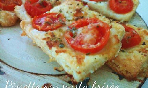 Pizzette golose con pasta brisée