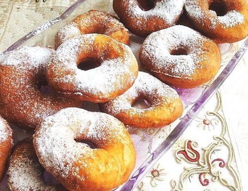 Graffe  napoletane- ricetta dolce di carnevale