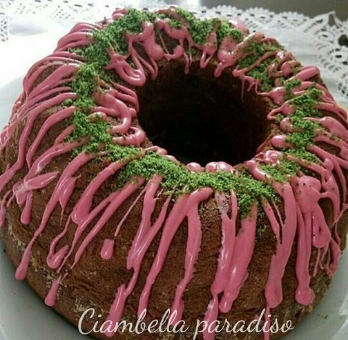 Ciambella paradiso - ricetta dolce