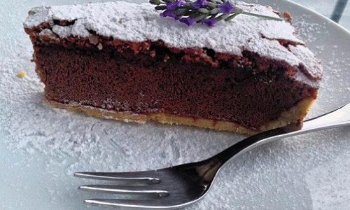 Crostata al cioccolato e mascarpone