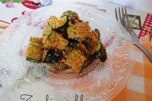 Zucchine sabbiose – ricetta contorno sfizioso