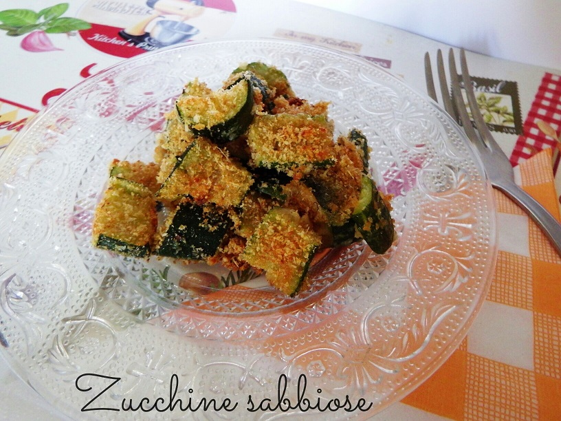 Zucchine sabbiose - ricetta contorno sfizioso