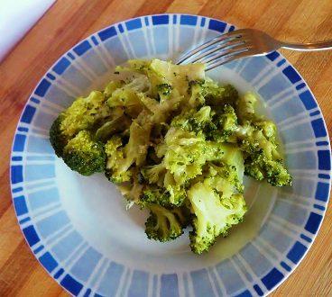 Broccolo filante cotto in padella