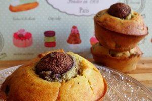 Muffin salati ai funghi e parmigiano