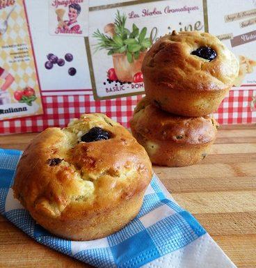 Tortine con olive e feta – ricetta greca