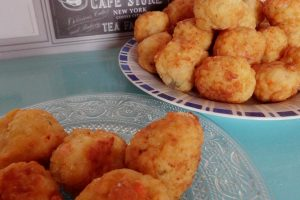 Crocchette di riso ai quattro formaggi