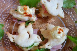 Colombe salate farcite – ricetta antipasto pasquale