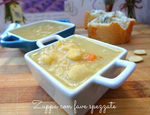 Zuppa di fave spezzate – primo piatto leggero