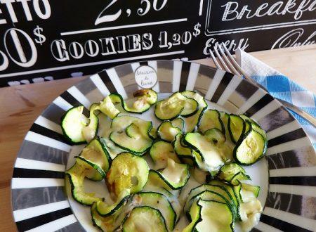 Riccioli di zucchine filanti – ricetta contorno