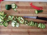 Riccioli di zucchine filanti - ricetta contorno