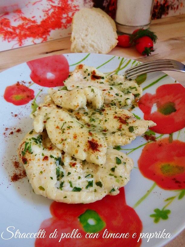 Straccetti di pollo con limone e paprika