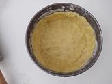 Crostata con crema di ricotta e limone