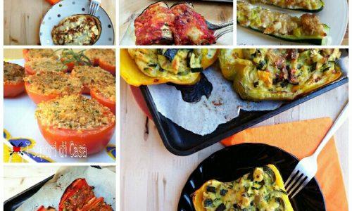 15 ricette IMPERDIBILI con le verdure ripiene
