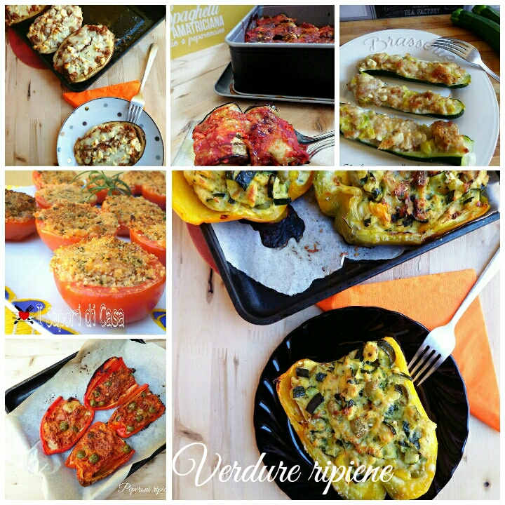 15 ricette IMPERDIBILI con la verdure ripiene