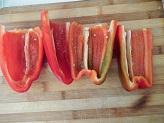 Peperoni ripieni alla poverella