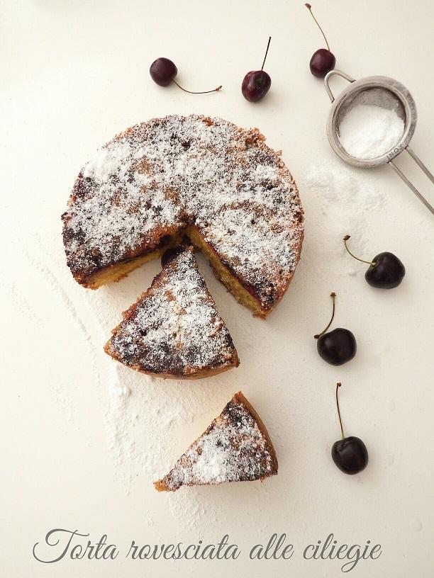 Torta rovesciata alle ciliegie