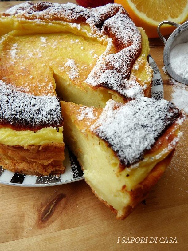 Torta Souffle all'arancia Senza Burro e Olio