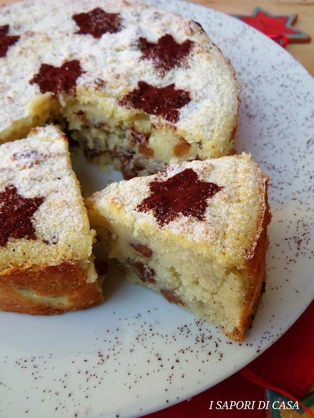 Torta Delle Feste con Cocco Datteri e Uvetta