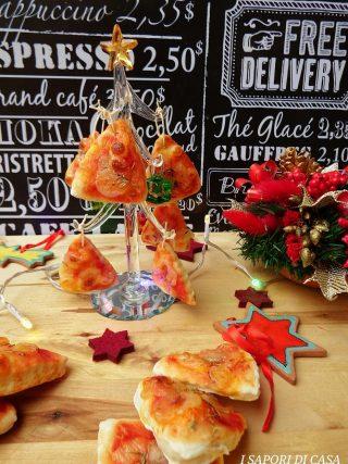 ALBERELLI DI PIZZA - ricetta centrotavola e segnaposti natalizi