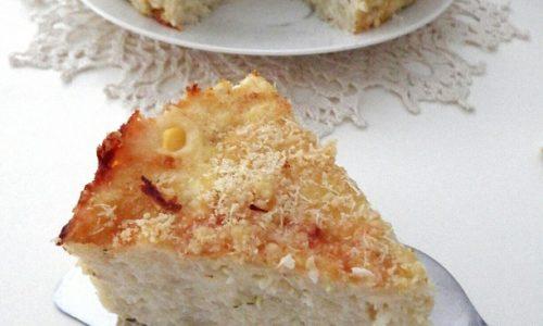 TORTA SALATA CON CAVOLFIORE E RICOTTA