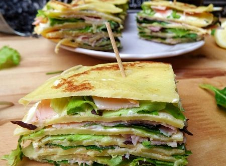 CLUB SANDWICH DI CREPES