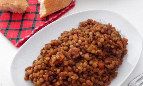 RAGU DI LENTICCHIE – ricetta vegetariana