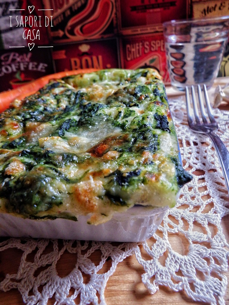 Lasagne con Spinaci e Prosciutto
