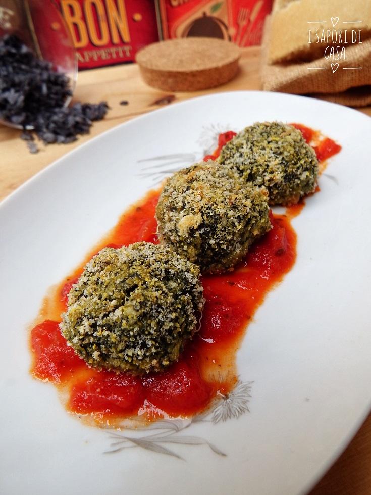 Crocchette con spinaci e ricotta