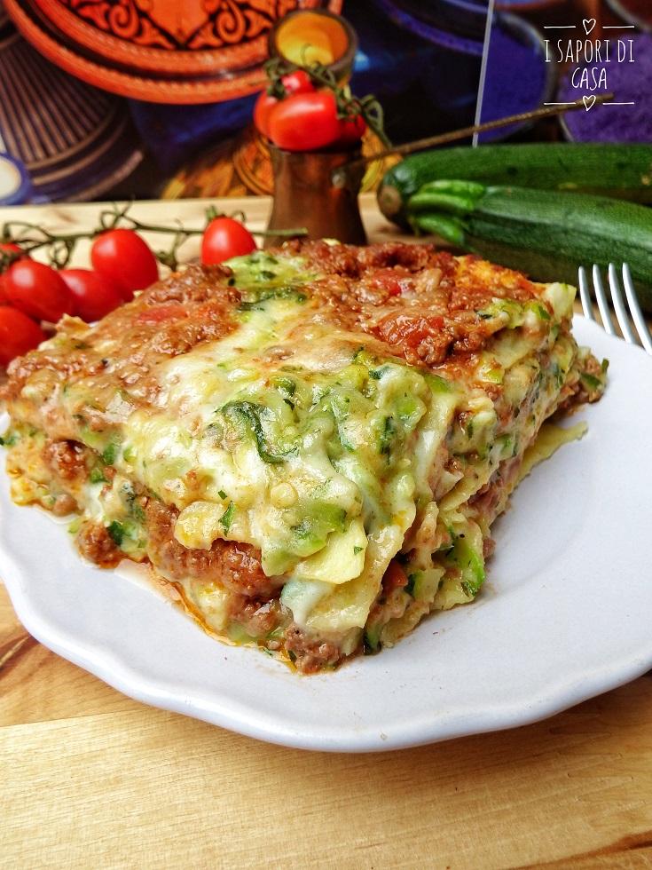 Lasagne con Ragu e Zucchine