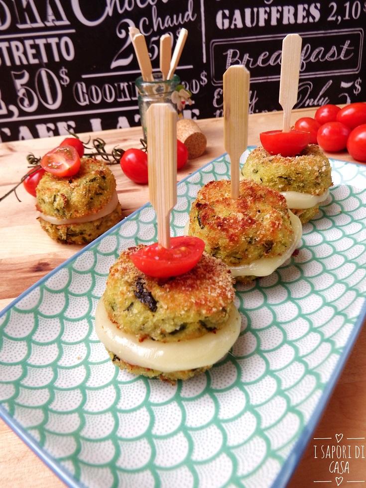 Mini burger alle zucchine