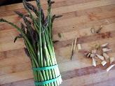Risotto con asparagi selvatici e Prosecco
