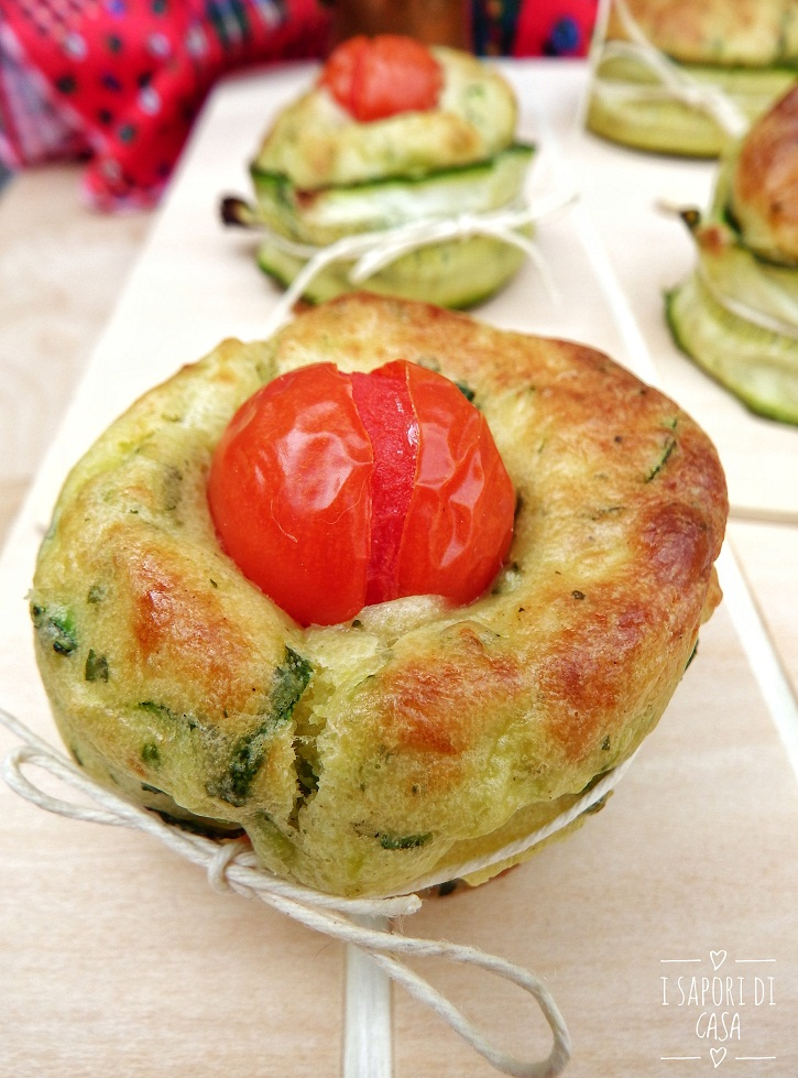 Tortini Morbidissimi alle Zucchine