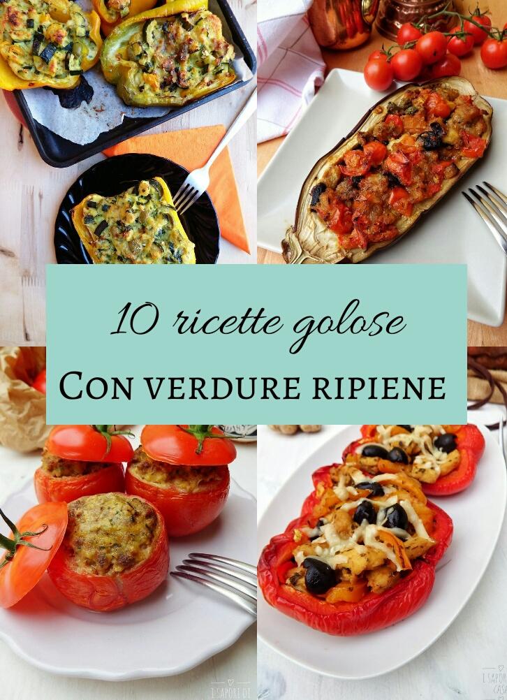 10 ricette golose con verdure ripiene