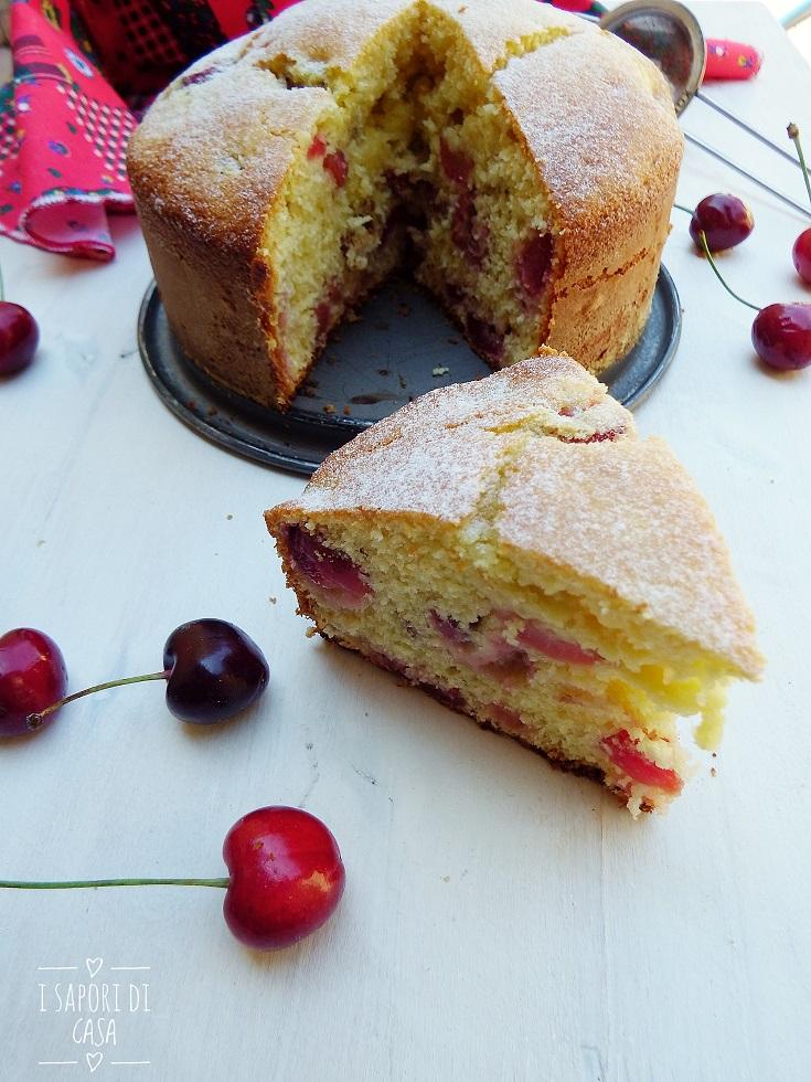 Torta morbidissima alle ciliegie