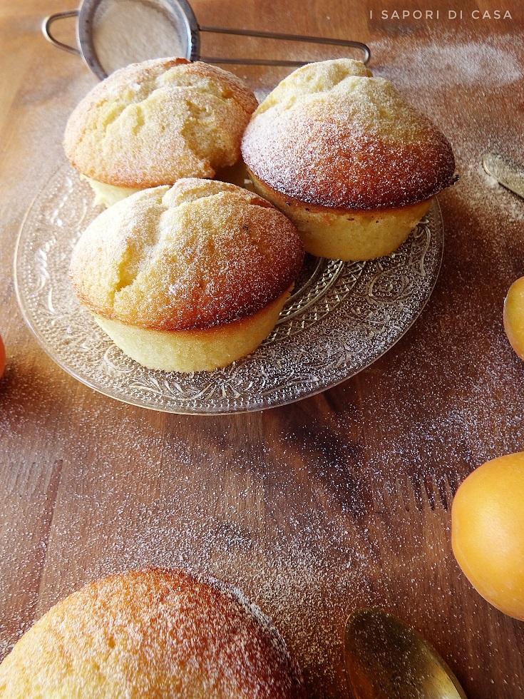 Muffin alle albicocche e mascarpone