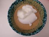 Cheesecake al caffe nel bicchiere