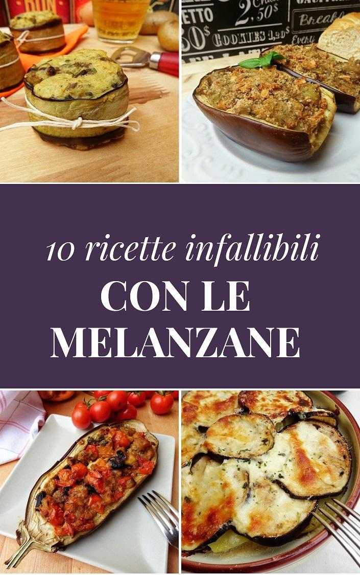 10 ricette infallibili con le melanzane