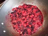 Crostata cuor di frutti di bosco e ricotta