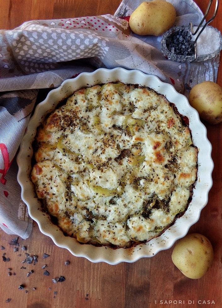 Torta di patate con erbe aromatiche