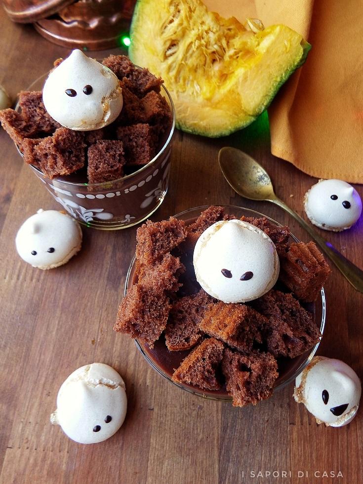 Coppa halloween cioccolato e arancia