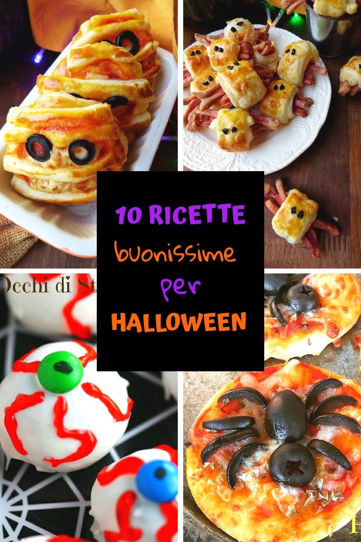 10 Ricette Buonissime per Halloween