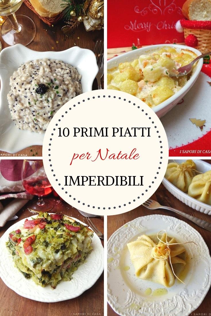 10 primi piatti per Natale imperdibili