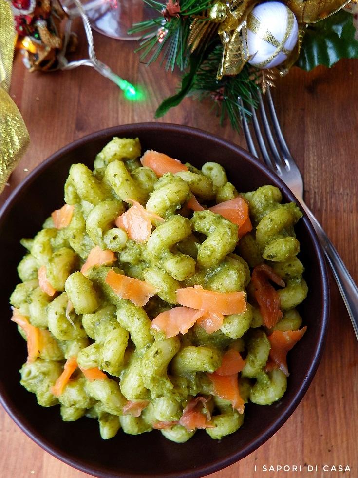 Pasta con Salmone e Crema di Broccoli