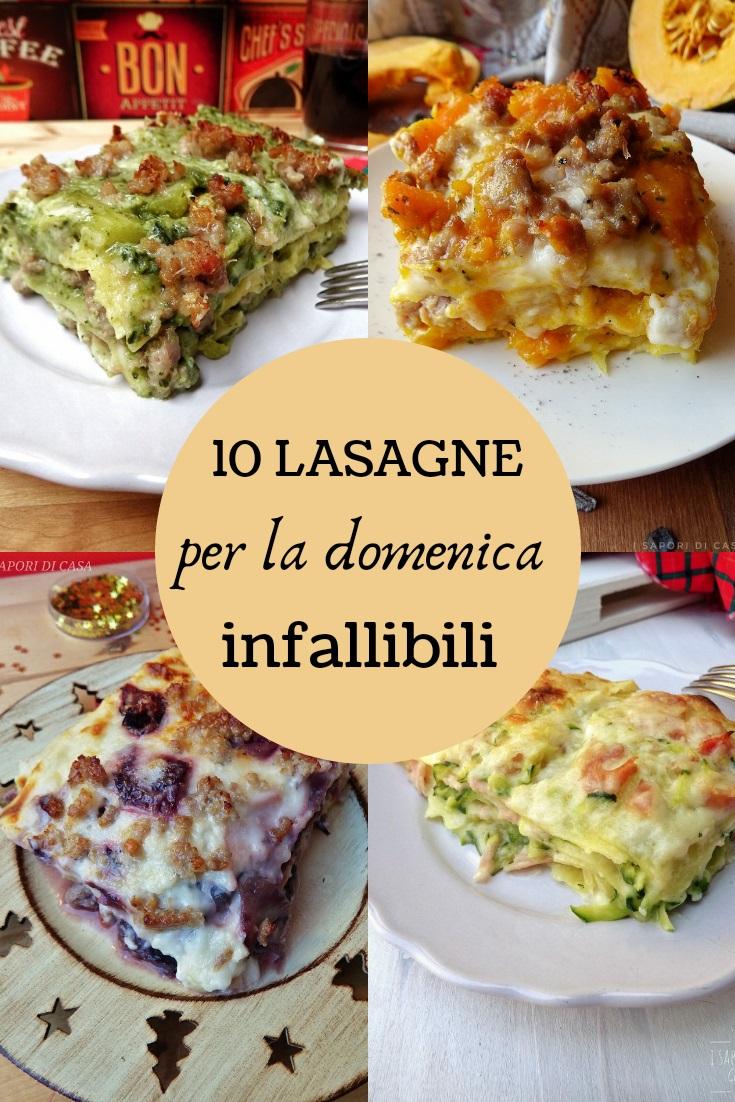 10 lasagne per la domenica infallibili