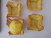 Crostatine pina colada